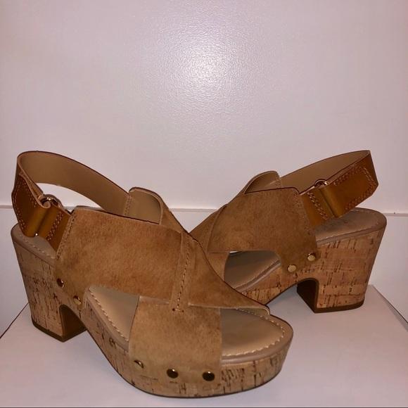 1a99f9c9f Franco Sarto Shoes - Franco Sarto Kicks Platform Sandal in Chestnut